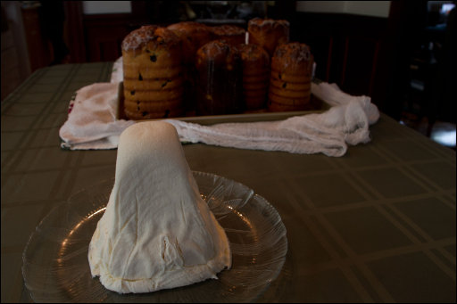 Pascha and Kulich - the final product